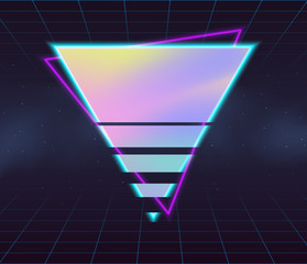 Holographic vector backgrounds.