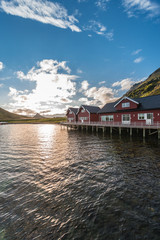 Barents Sea in Finnmark, Norway