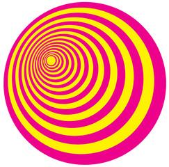 Yellow Pink circles