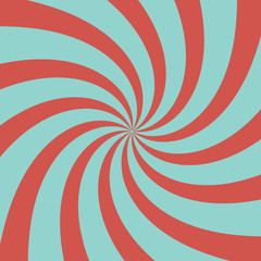 Blue-red radial background