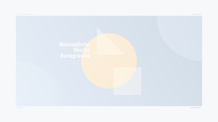 Abstract minimalistic gradient geometric modern vector background. Gradient Geometry Forms. Graphic design. Creative concept.