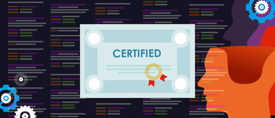 Certified Application Developer computer programmer software engineer training coding qualified