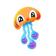 Jelly Fish Octopus Deep Sea Illustration