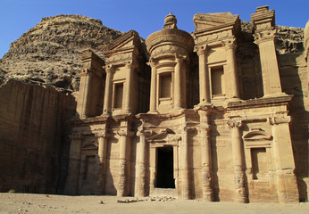 Ad Deir - the famous monastery of Petra, Jordan