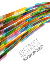 Abstract background with color stripes