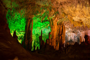 Höhle bei Porto Cristo