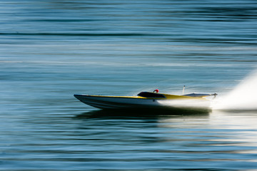 Model Speed Boat Race