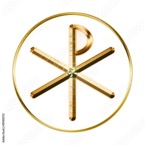 Glowing Chi Rho Symbol Stock Photo And Royalty Free Images On
