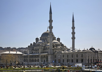 New mosque (Yeni Cami) in Istanbul. Turkey