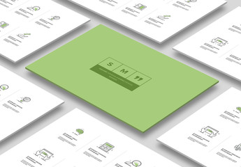 8 Detailed Business Icons 1