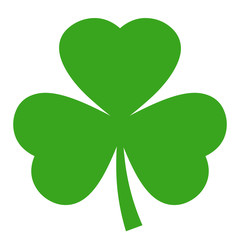 Shamrock vector icon