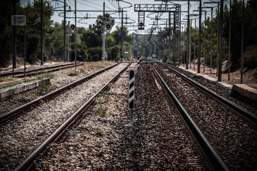Una stazione senza treni