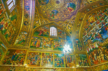 Visit Vank Cathedral in Isfahan, Iran