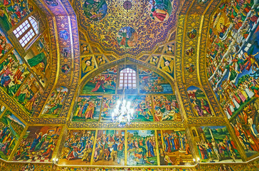 The medieval Vank Cathedral, Isfahan, Iran