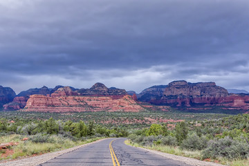 """Lonesome Redrocks Highway"""