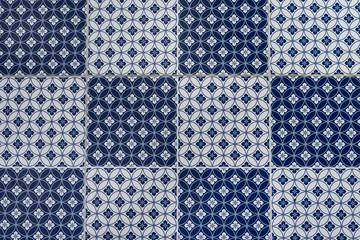 vintage tiles pattern background