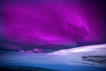Northern Lights nature