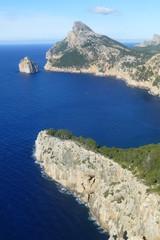 Formentor, cabo junto a Pollensa en Mallorca,Islas Baleares (España)