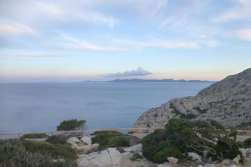 Formentor zona natural junto a Pollensa en Mallorca,Islas Baleares (España)