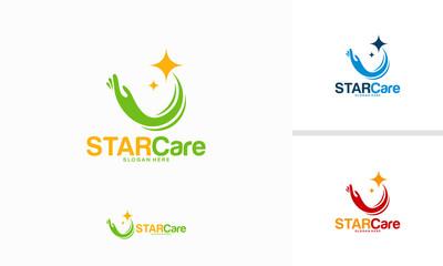 Star Care logo designs concept vector, Elite Care logo template