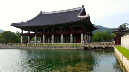 Part of Gyeongbokgung Palace in Seoul, South Korea
