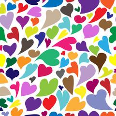 Valentine's seamless pattern - Illustration