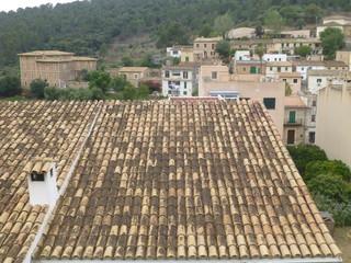 Buñola, pueblo de las Islas Baleares, España en la isla de Mallorca. Limita con Palma de Mallorca, Marrachí, Santa María del Camino, Alaró, Escorca, Sóller, Deyá y Valldemosa