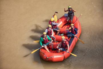 Rafting on River Trishuli, Nepal
