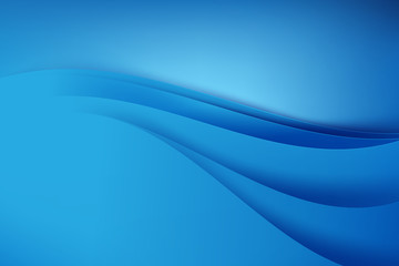 Abstract blue background dark curve 001