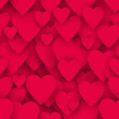 serca bezszwowe tło wektor
