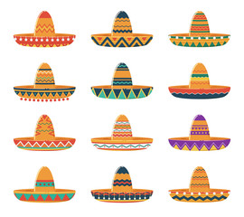Set of Sombrero Hats