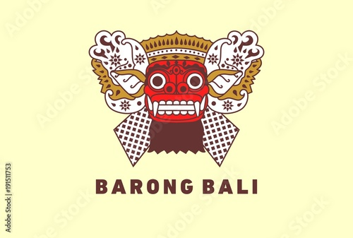 Barong Traditional Culture Of Bali Stock Image And Royalty Free
