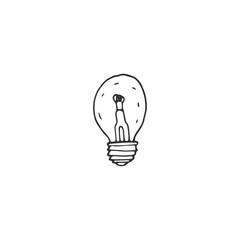 bulb vector draw
