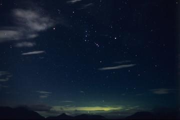 Stars shine (Orion)