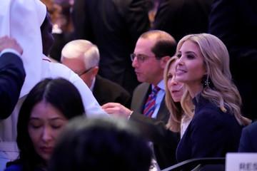 White House senior advisor Ivanka Trump attends the National Prayer Breakfast in Washington