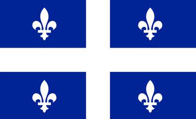 Quebec vector flag