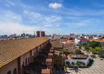 Old Town, elevated view, Santa Cruz de la Sierra, Bolivia