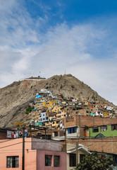 San Cristobal Hill, Lima, Peru