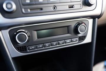 Fotoväggar - Air conditioning system in a car