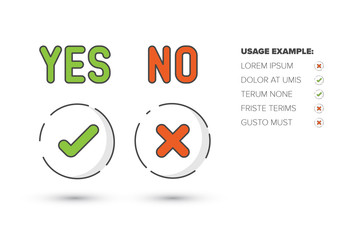 Yes/No Infographic 1