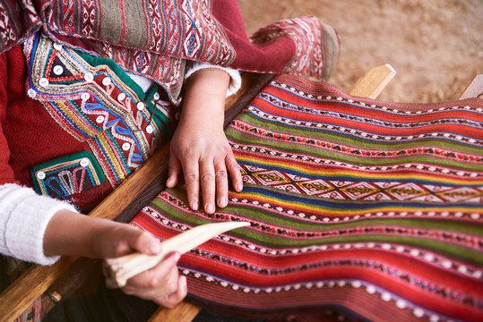 Traditional handmade wool production