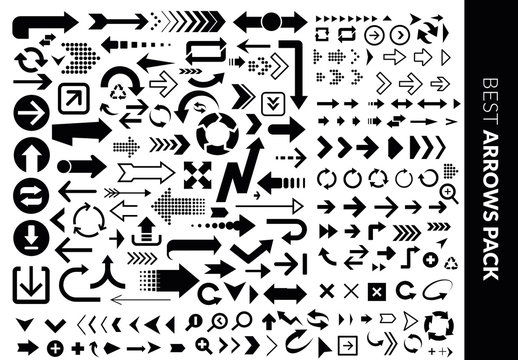 Arrows and Icons Set