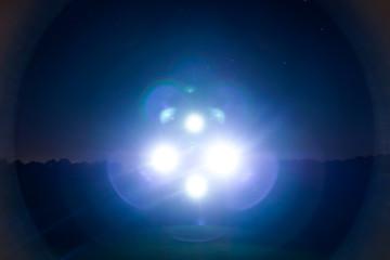 In de dag UFO UFO lights