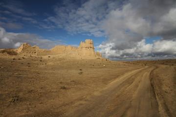 Sauran Silk road fort