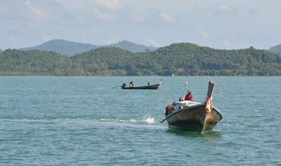 Thaïlande, Baie Phang Nga, pêcheurs traditionnels
