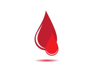 Blood vector icon illustration design