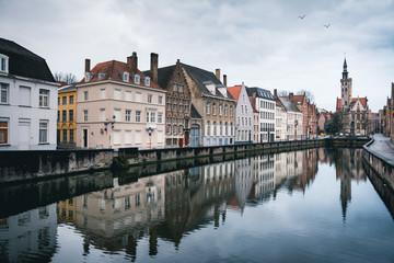 Bruges cityscape, Belgium