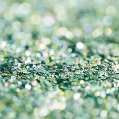 Abstract bokeh backdrop composition