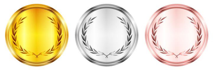 メダル 金 銀 アイコン