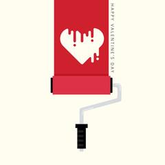 Valentine's day love concept background